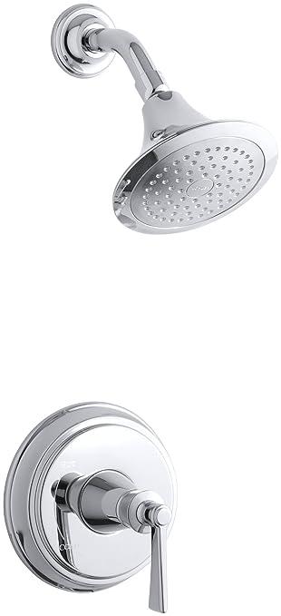 kohler shower systems reviews brushed nickel archer faucet trim polished chrome