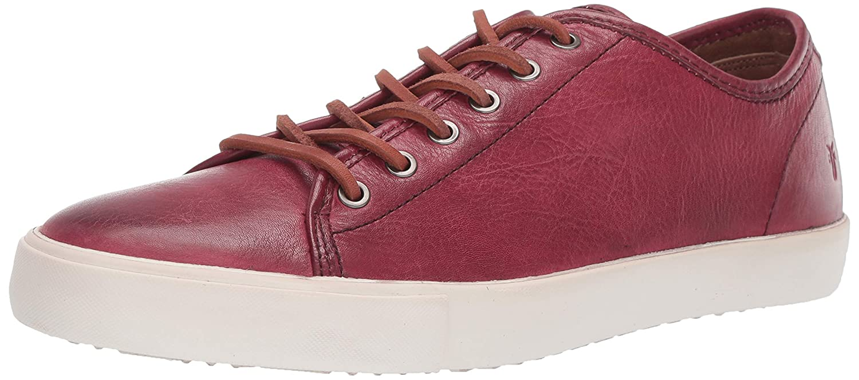 Crimson Frye Men's Brett Low Sneaker
