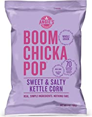Angie's BOOMCHICKAPOP Sweet and Salty Kettle Corn Popcorn, 7 Ounce