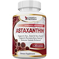 Natural Astaxanthin Supplement/Best Pure Antioxidant from Microalgae, Helps Skin...