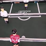 Carromco Futbolín Tucana XT, 05098: Amazon.es: Deportes y aire libre
