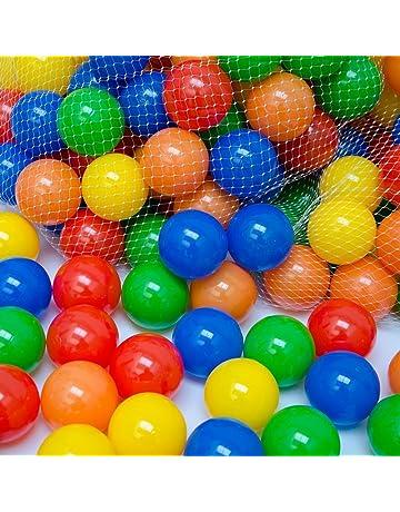LittleTom 50 Bolas Piscina Infantil 5,5cm Pelotas de Colores Niños y Bebés de 0