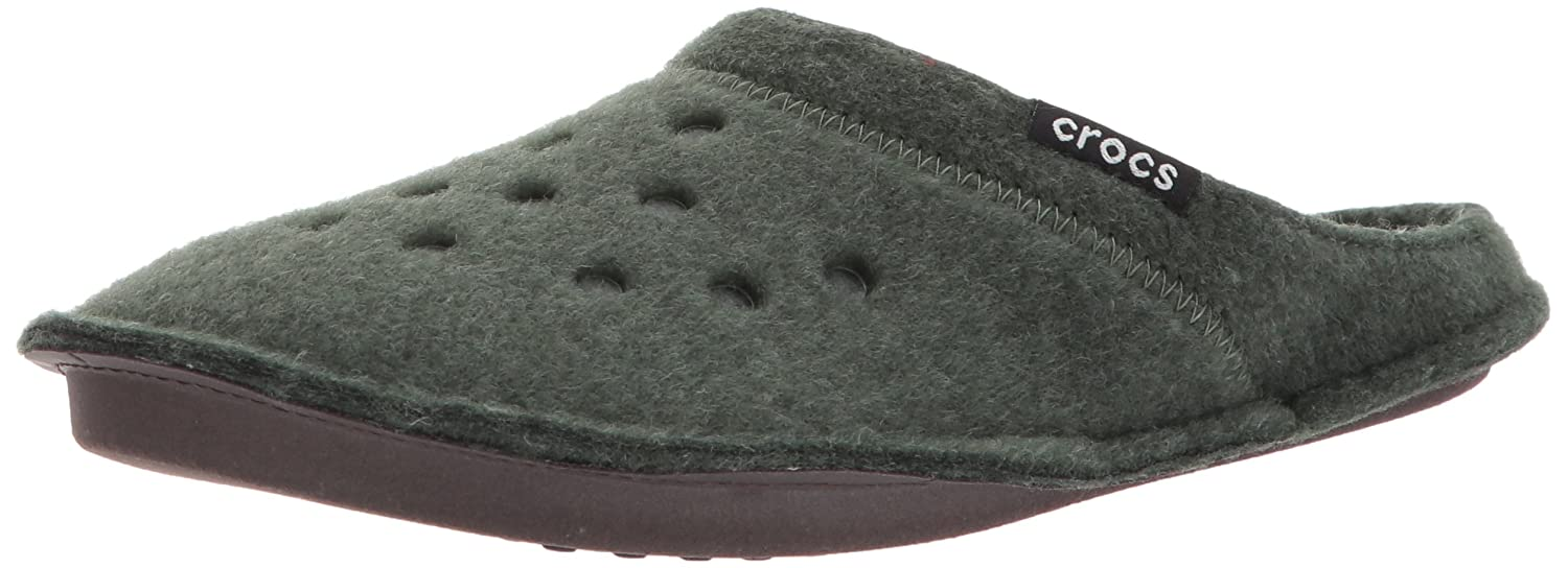 Crocs Mixte Classicslipper, Chaussons Forest Mixte Adulte Forest Crocs Green/Oatmeal b6dd490 - reprogrammed.space