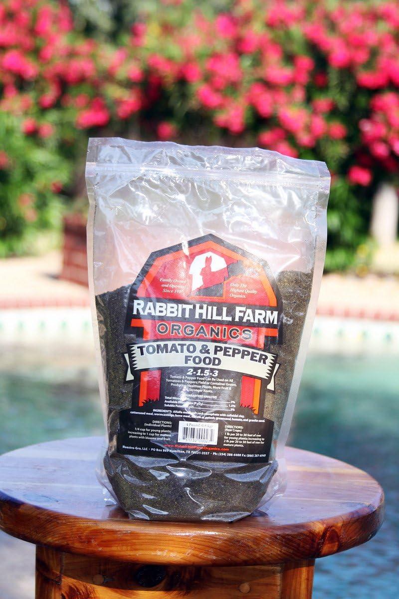 Rabbit Hill Tomato & Pepper Food 4 lb. bag (6)