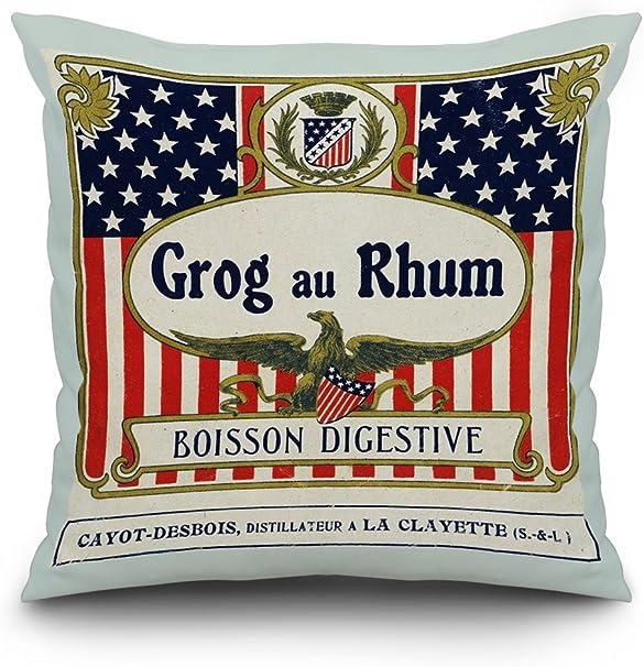 Grog AU Rhum Boisson Digestivo etiqueta de Ron: Amazon.es: Hogar