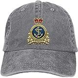 JESDA Royal Canadian Navy Vintage Baseball Cap Trucker Hat for Men and Women