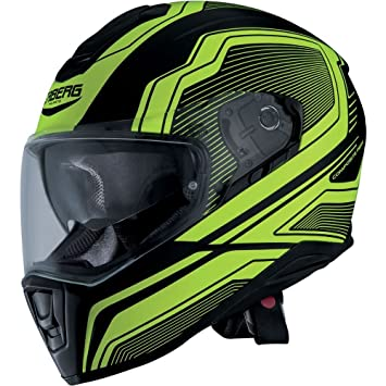 Amazon.es: Caberg Drift Full Face casco de moto - Flux negro mate ...
