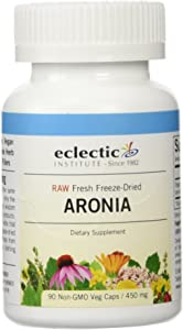Eclectic Institute, Aronia Berry 450mg, 90 Capsules