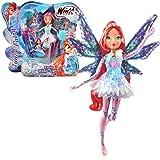 Winx Club - Tynix Magic Lights Doll - Bloom with Magic Robe and Lights