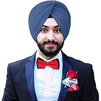 eloria Sij Turbante de algodón Gasa Orgullo del Turbante Sikh del Punjabi Patka Pagri Dastar Tela