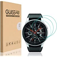 HEYUS [3 Pack] for Samsung Galaxy Watch 46mm Screen Protector, 9H Hardness Scratch Resistant Anti-Bubbles Anti…
