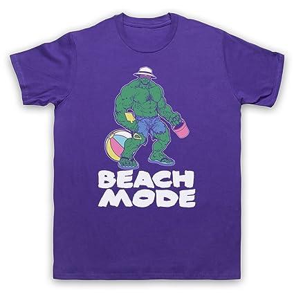 My Icon Art & Clothing Beach Mode Gym Workout Slogan ...