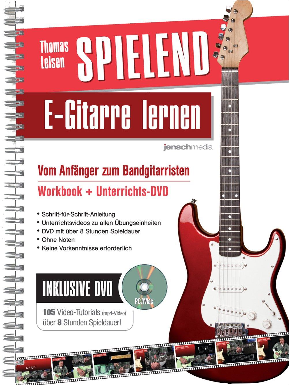 Spielend E-Gitarre Lernen: Vom Anfänger zum Bandgitarristen: Amazon.es: Thomas Leisen, Jürgen Jensch: Libros en idiomas extranjeros