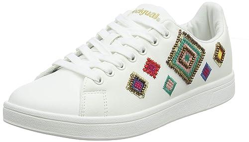 Desigual Shoes (Cosmic_Exotic Diamond), Zapatillas para Mujer: Amazon.es: Zapatos y complementos