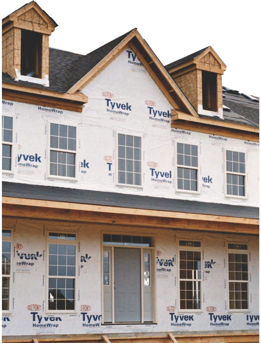DuPont Tyvek HomeWrap - 3' x 100' - - Amazon.com