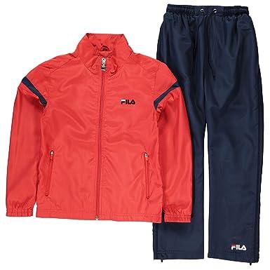 Fila Kinder Spencer Sportanzug Trainingsanzug Jogginganzug Jacke ...