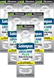 Salonpas LIDOCAINE PLUS 3 oz ROLL ON Pain Relieving Liquid! Maximum Strength 4% Lidocaine for Numbing Pain Relief! MESS FREE
