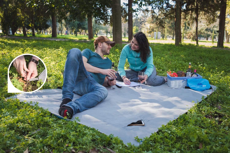 Amazon.com: Manta de picnic y acampada impermeable, para ...