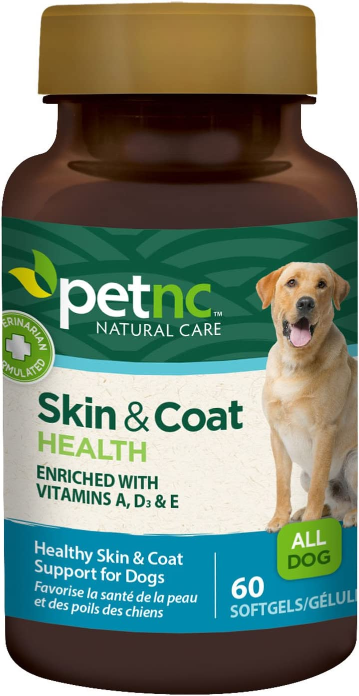 PetNC Natural Care Skin and Coat for Dogs