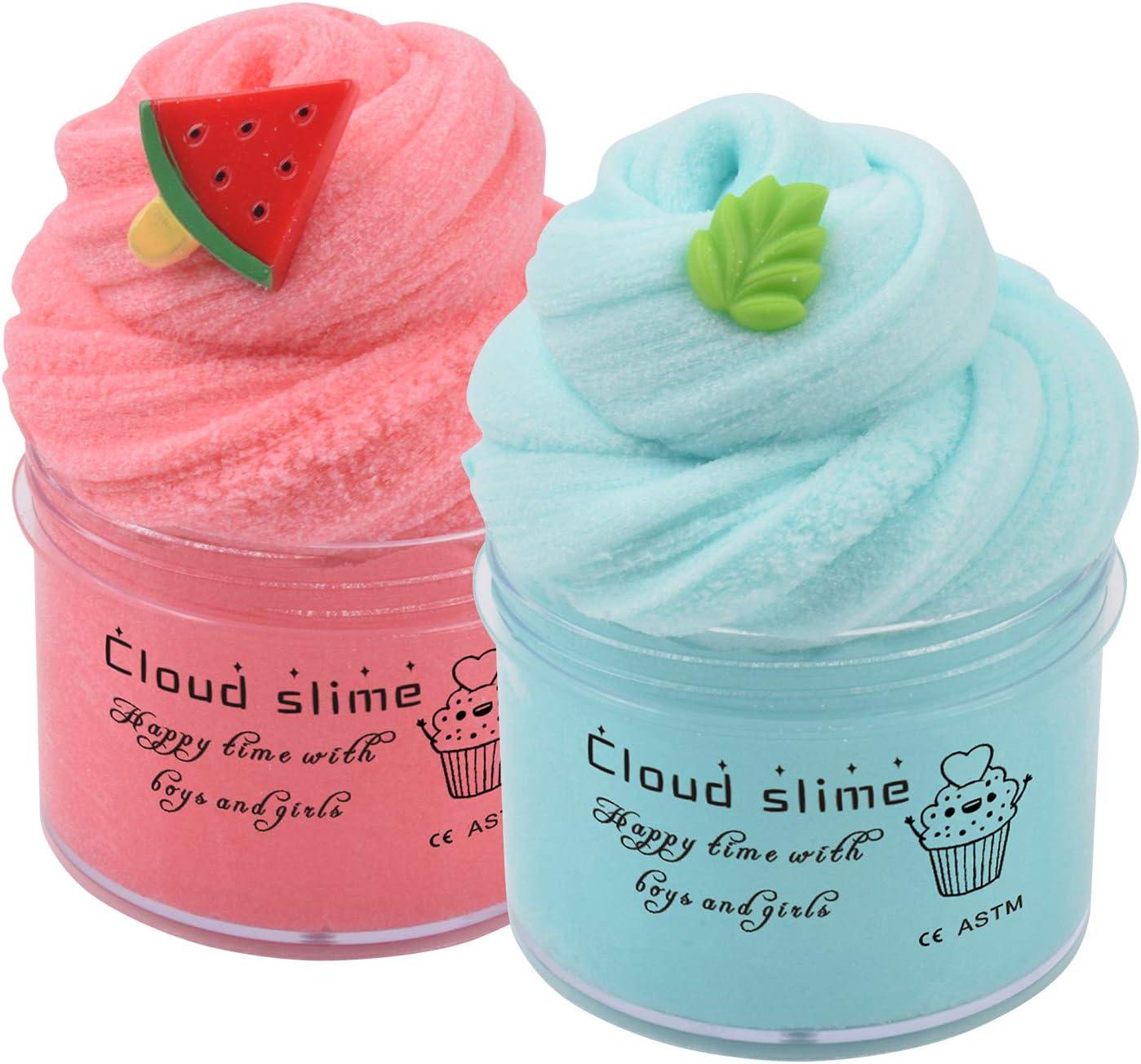 Watermelon Cloud Slime 12oz