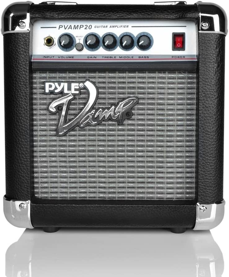 New Pyle PVAMP20 20 Watt Vamp-Series Amplifier With 3-Band EQ