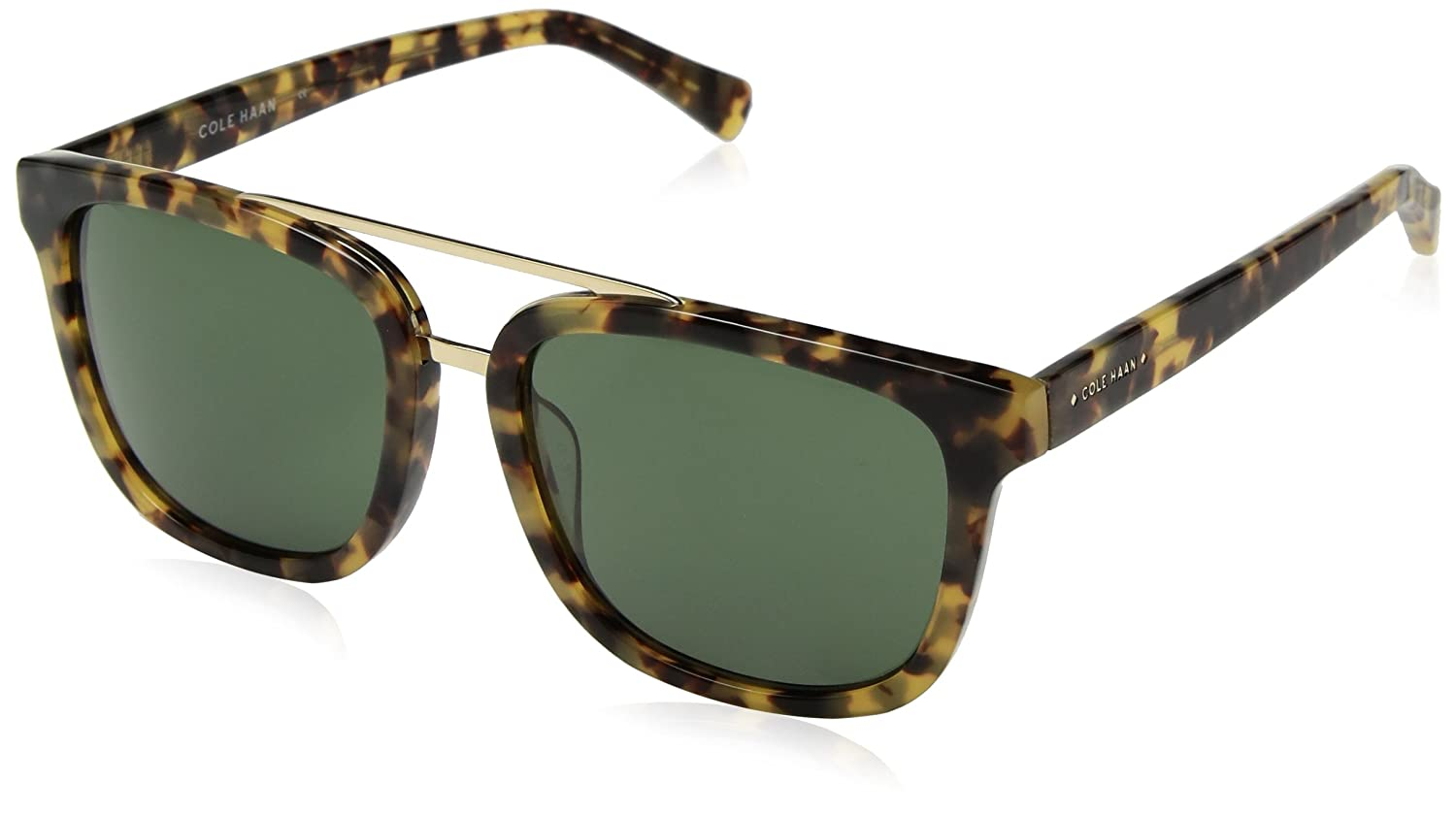 2092a9921d3aa Amazon.com  Cole Haan Men s Ch6012 Plastic Square Sunglasses