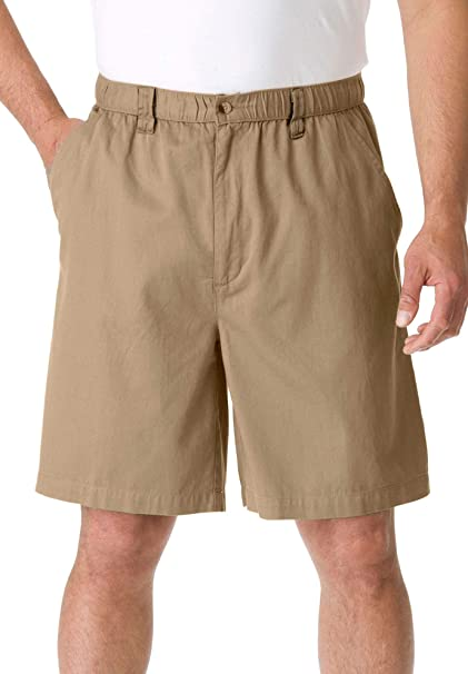 KingSize Mens Big /& Tall 6 Pull-on Shorts