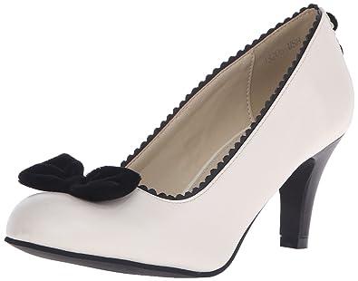 T.U.K. Shoes Women's Day Of The Dead Skull Monochrome Antipop Heels EU36 / UKW3 6ofk2Fl