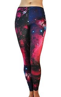 0c8ec00566 Comfy Yoga Pants - Workout Capris - High Waist Workout Leggings for Women -  Lightweight Printed