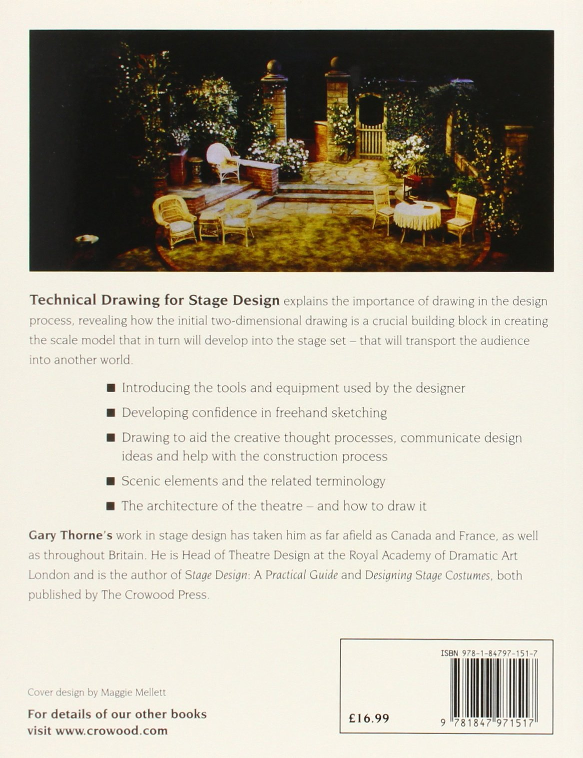 Technical Drawing For Stage Design Gary Thorne 9781847971517 Amazon Books