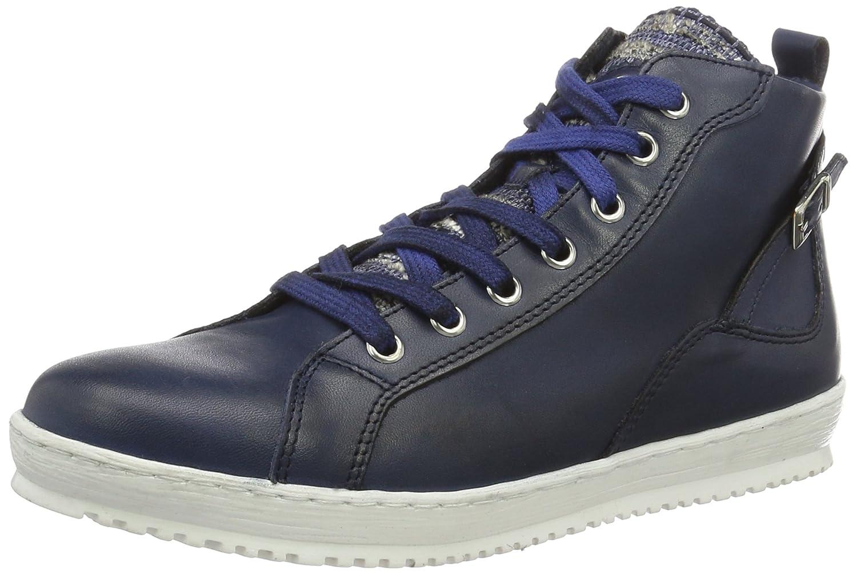 Einkaufen zarte Farben autorisierte Website Amazon.com | Tamaris 25215, Women's Hi-Top Sneakers, Blue ...