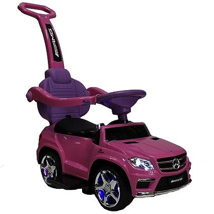 Amazon Com Elitemailers Kids Pink Licensed Mercedes Kid Ride On Toy