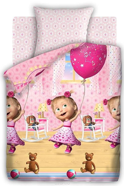 Masha y el oso SET de ropa de cama cumpleaños 1,5 dormitorio ...