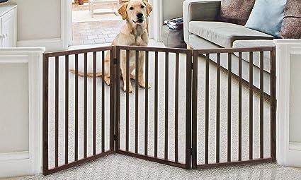 Amazon.com: Puerta para mascotas de madera – Puerta para ...