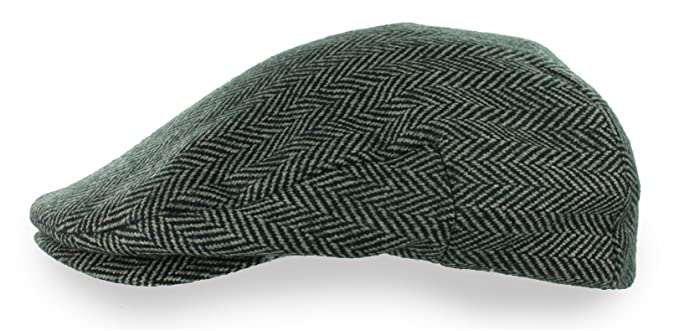 10a9731a8a5 DPC Men s Ivy Hat Herringbone Newsboy (X-Large