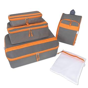 Amazon.com: Organizador de cubos de equipaje de viaje, bolsa ...