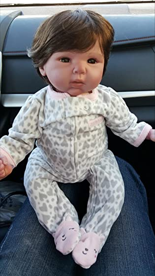 Paradise Galleries Reborn Baby Doll Lifelike Realistic Baby Doll, Tall Dreams Gift Set Ensemble, 19-inch Weighted Baby, for Ages 3+ Awesome