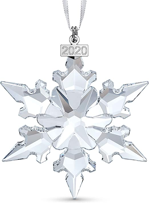 Swarovski Annual Edition 2020 Christmas Ornament, Clear Amazon.com: SWAROVSKI Annual Edition Ornament 2020, Clear: Home