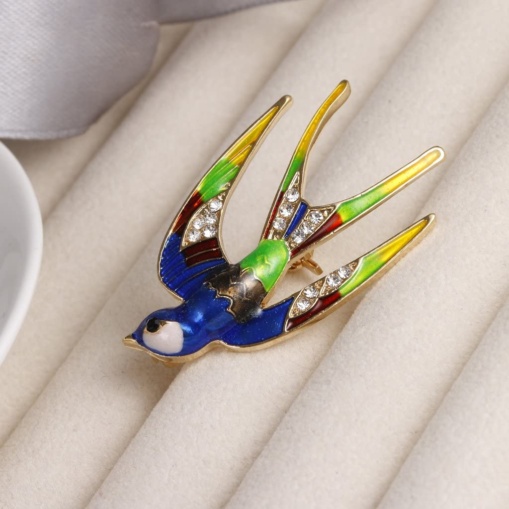 Sharplace Broche Strass Brooch Pin /Épingle de Collier Accessoire V/êtement Soir/ée Bijoux