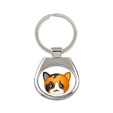 Calicó, un Llavero con un Gato, una Nueva colección con el ...