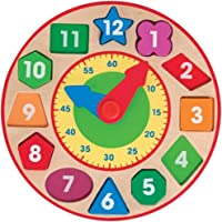 Melissa & Doug - 18593 - Orologio per  Classificare Forme