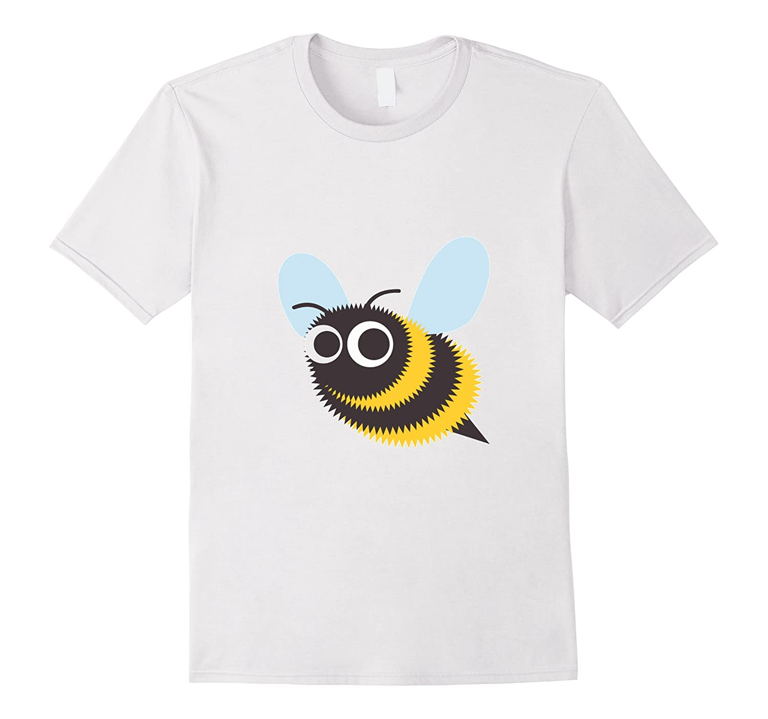 Bee Emoji T-Shirt Honeybee Bumblebee-CL