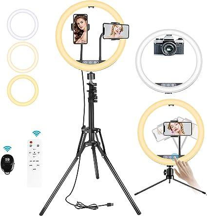 Bestope 12 Ringlicht 3 In 1 Berührbar Selfie Kamera