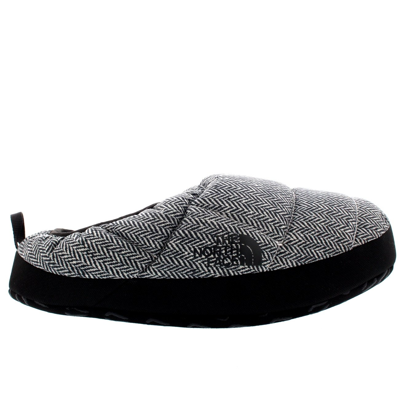 The North Face Mens NSE Tent Mule III Thermal Warm Winter Mule Slippers - Black/White - 8-9.5 by The North Face (Image #4)