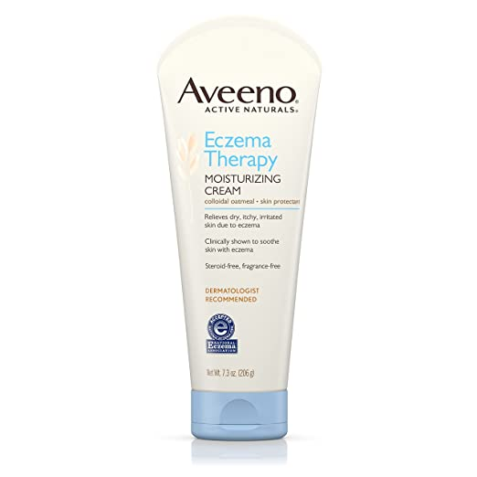 Aveeno Eczema Therapy Moisturizing Cream Review