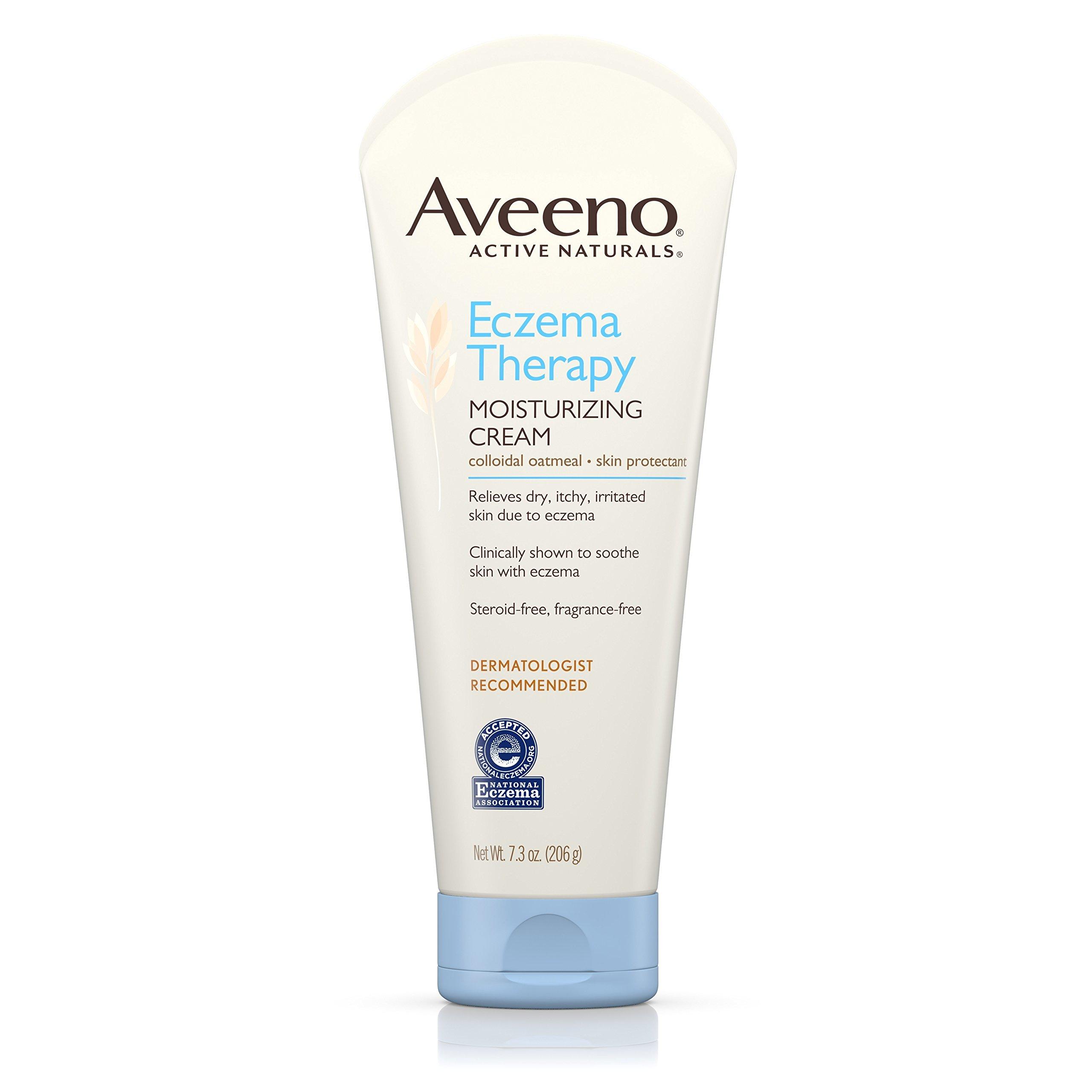 Aveeno Eczema Therapy Moisturizing Cream For Sensitive Skin, 7.3 Oz