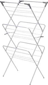 Greenway 3-Tier Collapsible Drying Rack, Silver