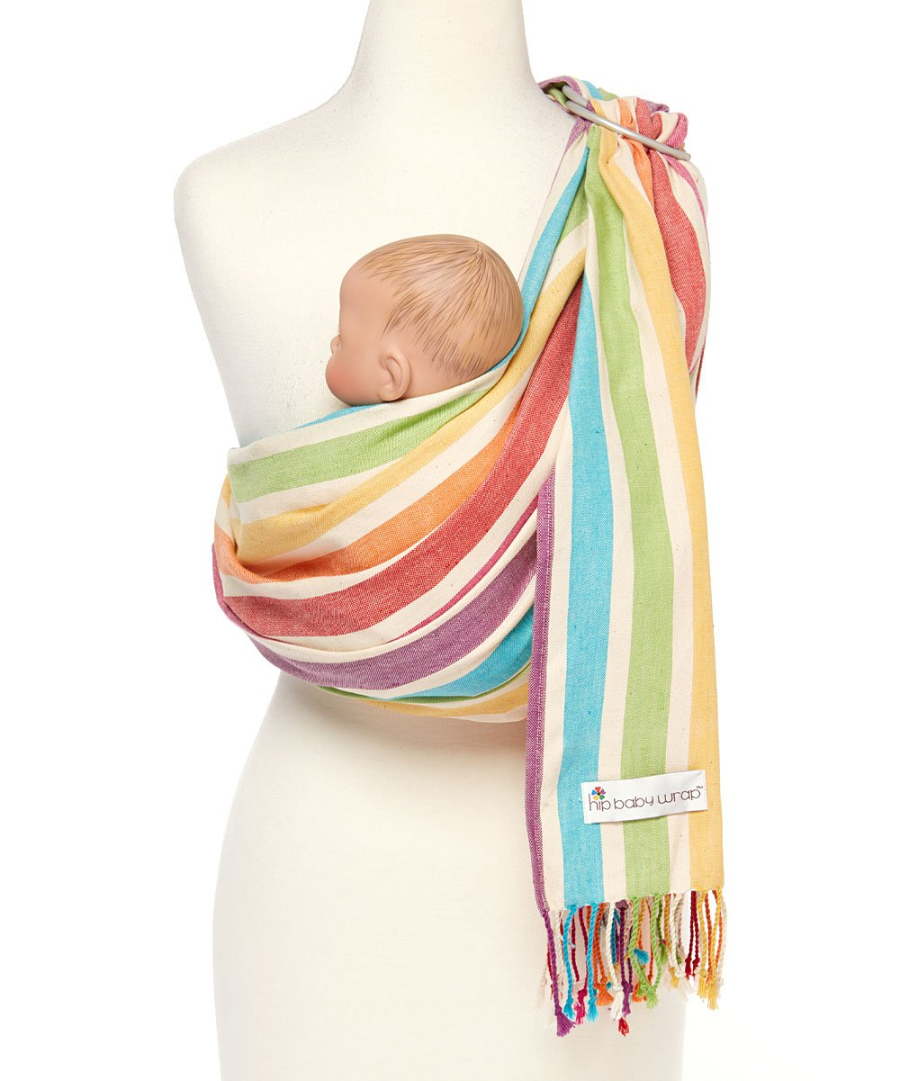 Hip Baby Wrap Ring Sling Baby Carrier for Infants and Toddlers (Fern) X000Y8UWB1