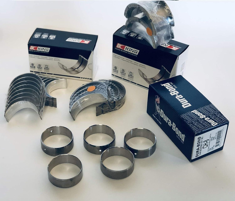 CLEVITE CB663P MS909P Main /& Rod Bearings Set Kit for SBC Chevy 305 350 383