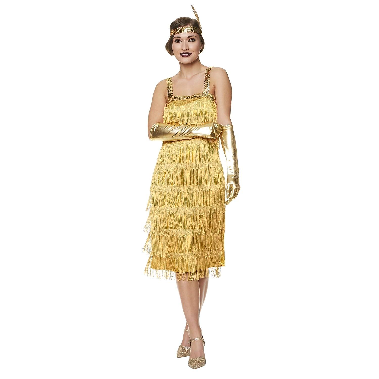 518c75288 Amazon.com  Karnival Costumes Flapper Costume Womens